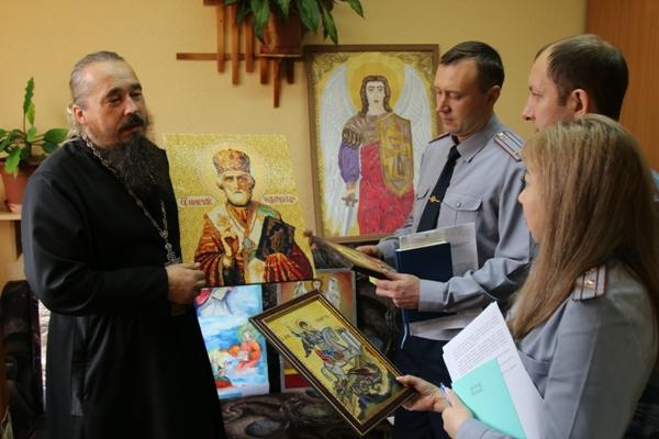 В УФСИН Чувашии подведены итоги конкурса православной иконописи осужденных «Канон»