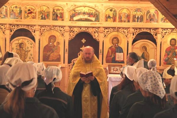 Празднование Рождества Пресвятой Богородицы в ИК-2 УФСИН России по Чувашской Республике
