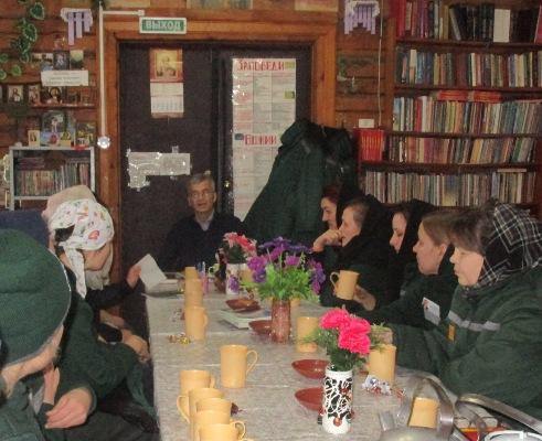 Лечебно-исправительное учреждение №7 УФСИН Чувашии посетил учитель воскресной школы