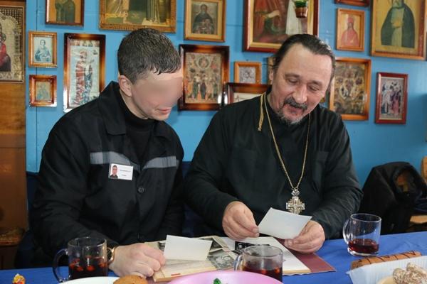 Крещение господне: осужденные исправительных колоний УФСИН России по Чувашской Республике приняли участие в праздничных богослужениях